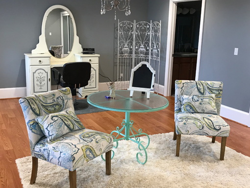 Bridal Suite Amenities